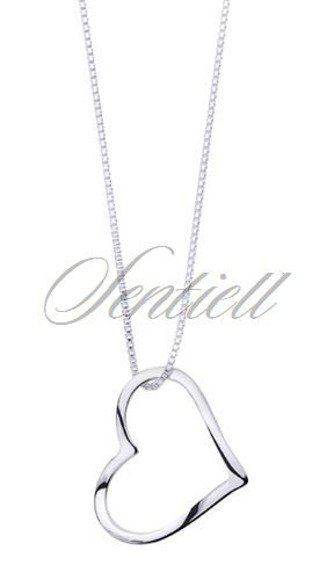 Silver (925) Pendant heart