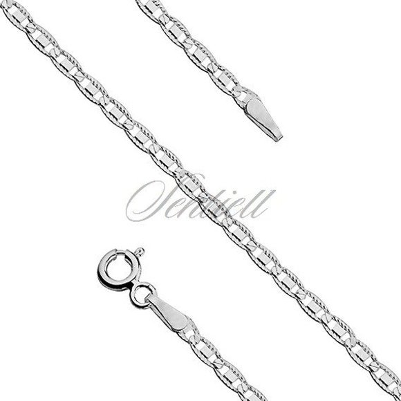 Silver (925) chain bracelet Ø 050 weight from 1,4g