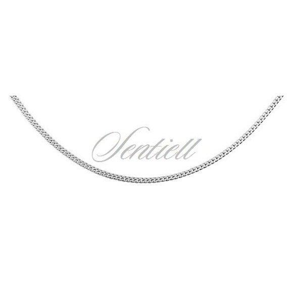 Silver (925) diamond-cut chain - curb Ø 039