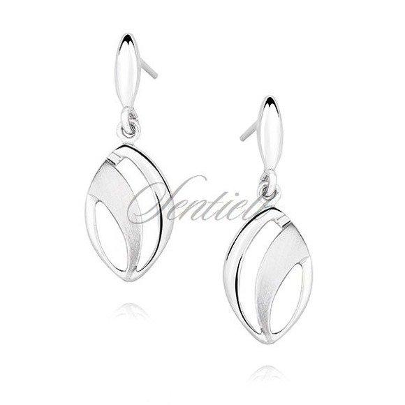 Silver (925) elegant earrings