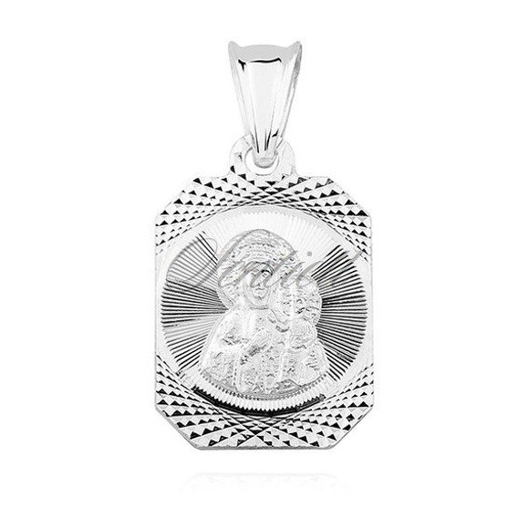 Silver (925) pendant Virgin Mary / Black Madonna