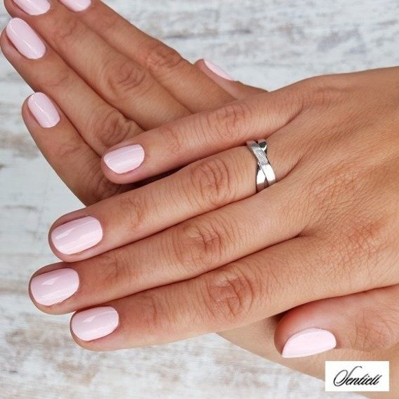 Silver (925) subtle, braid ring