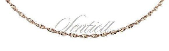 Silver (925) twisted chain bracelet